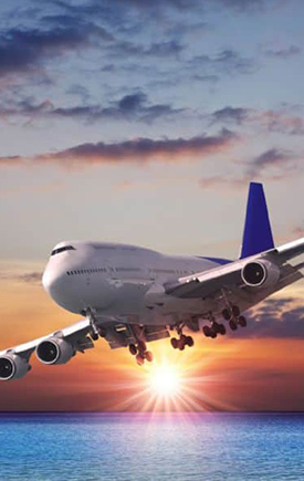 Servicio aéreo internacional